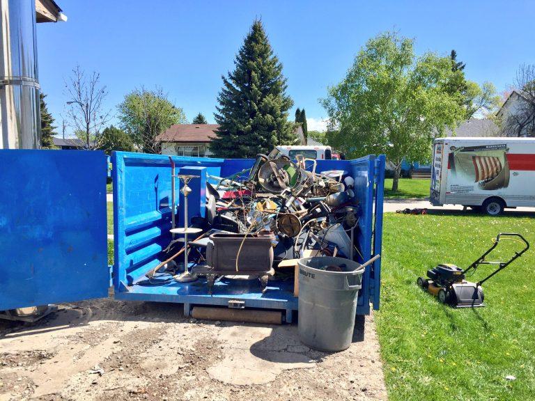 Winnipeg Bin & Dumpster Rentals by WinBins - scrap metal winbin bin rental