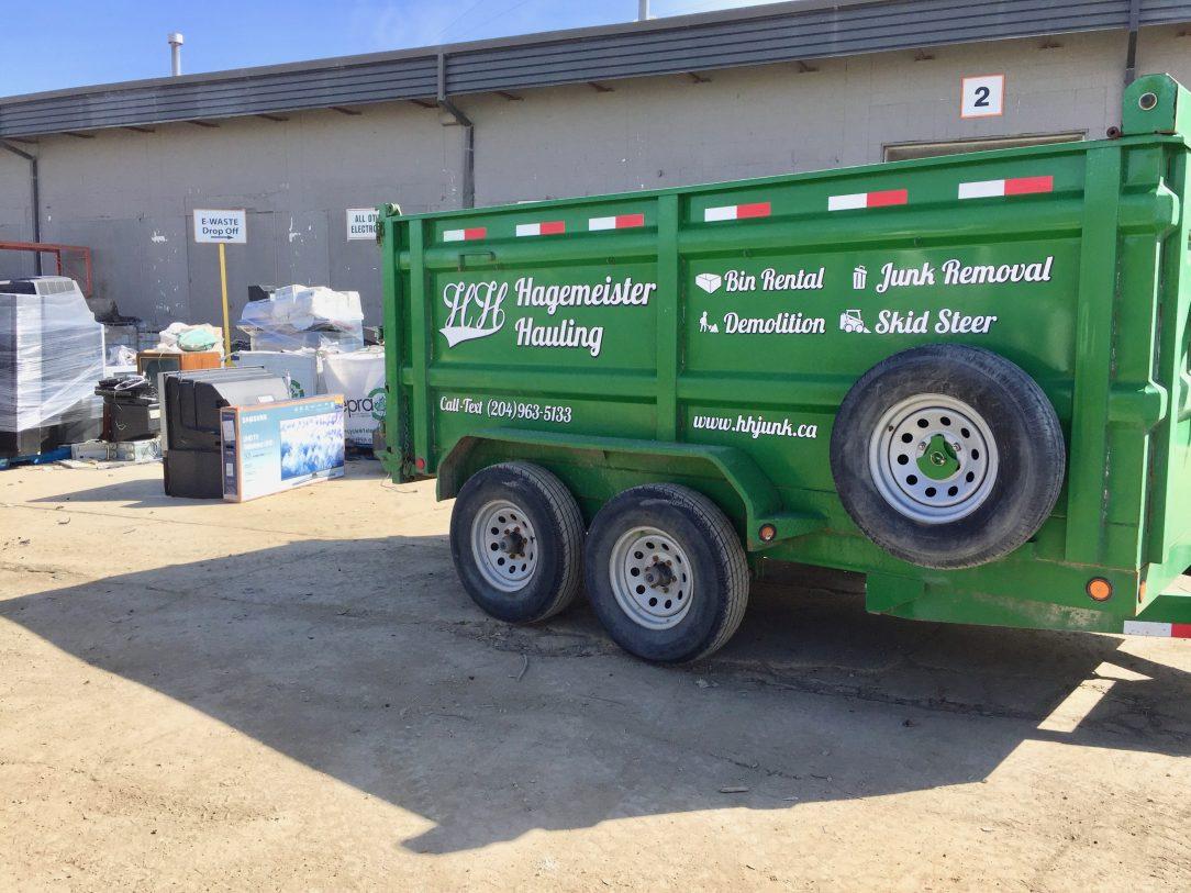 Winnipeg Bin & Dumpster Rentals by WinBins - tv donation urban mine