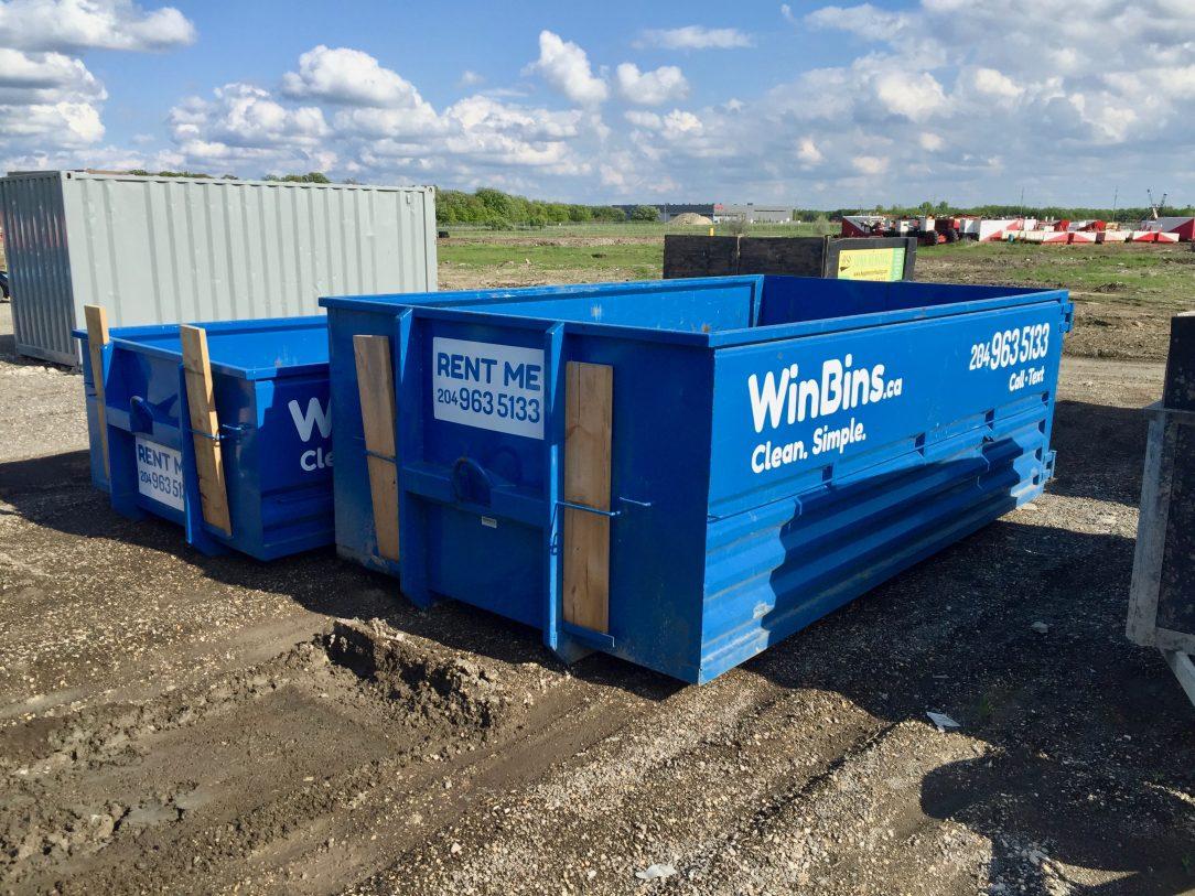 Winnipeg Bin & Dumpster Rentals by WinBins - winbins 20 and 12