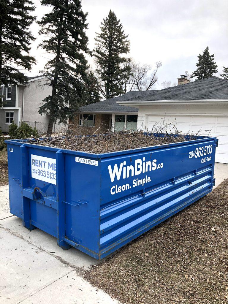 Winnipeg Bin & Dumpster Rentals by WinBins - Yard Waste 1